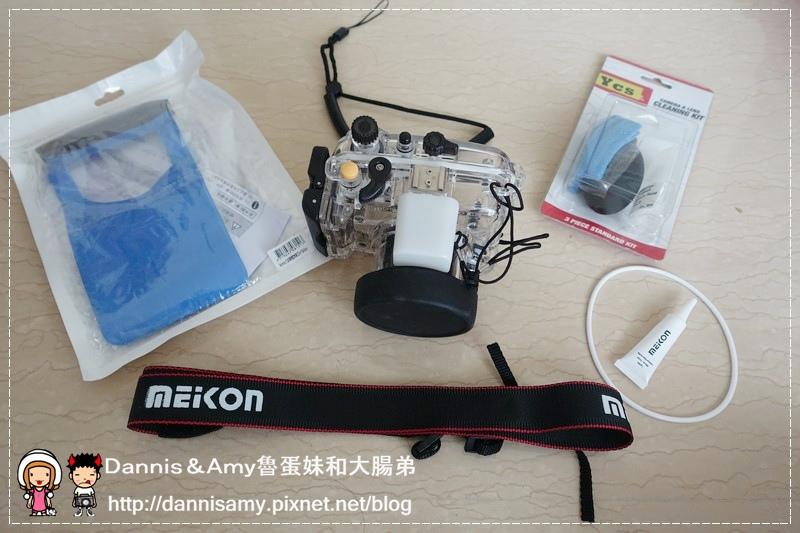 Meikon佳美能專用防水殼x SONY RX100 III (5)