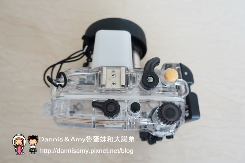 Meikon佳美能專用防水殼x SONY RX100 III (7)