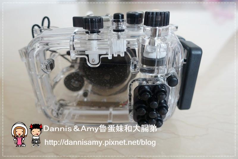 Meikon佳美能專用防水殼x SONY RX100 III (9)