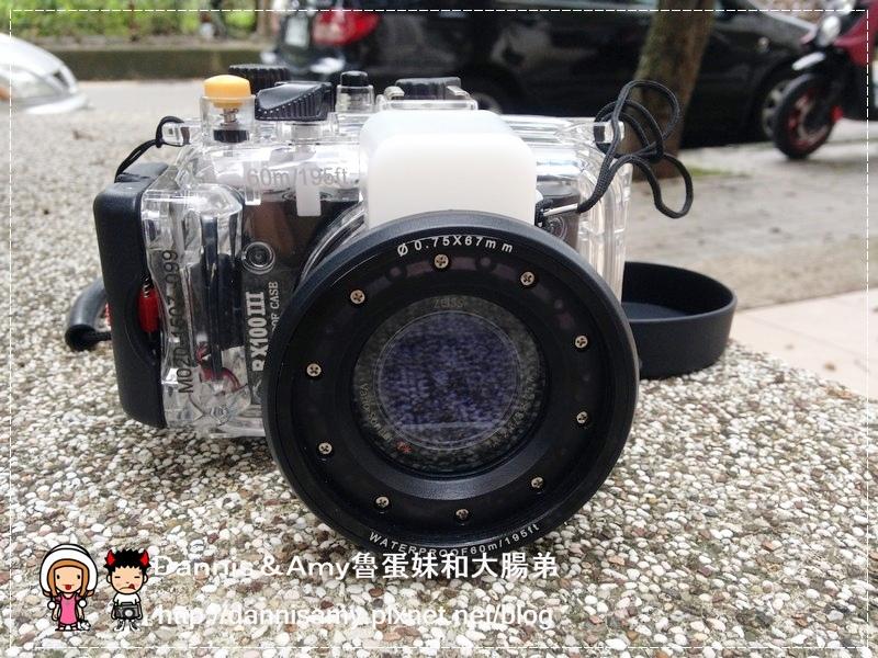 Meikon佳美能專用防水殼x SONY RX100 III (23)