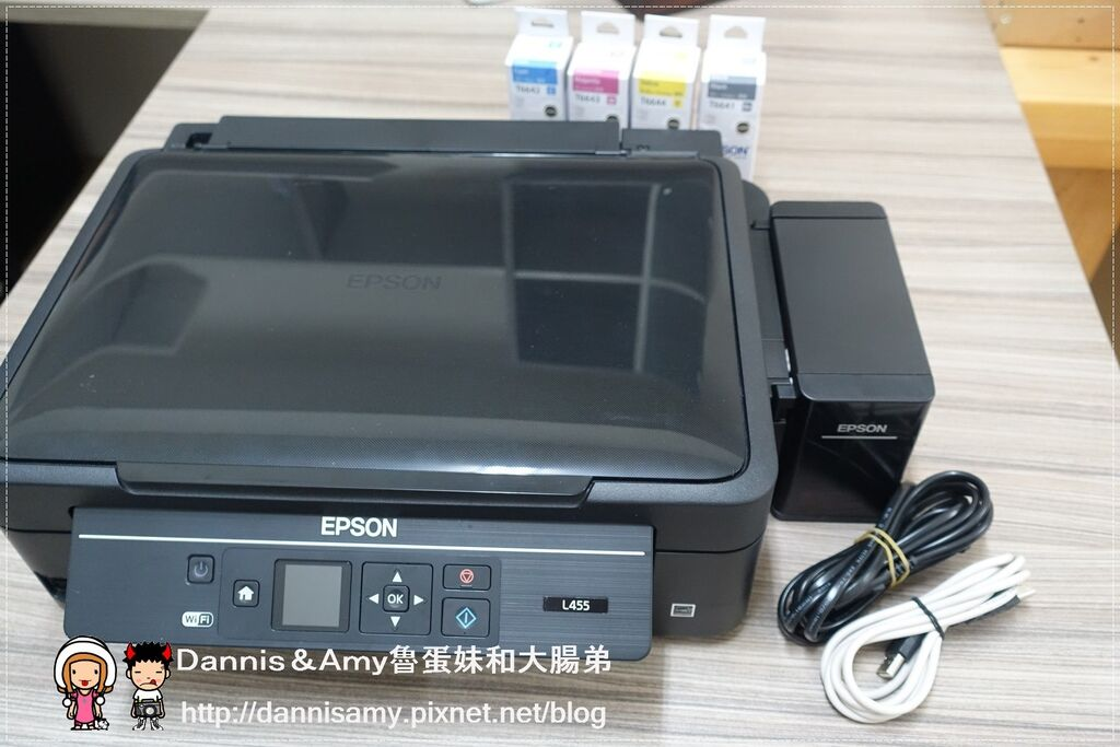 Epson L455連續供墨印表機 (10).jpg