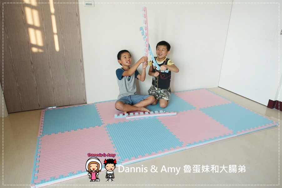 20160723《儿童游戏地垫》左左右右也爱用的  Mei colors美美地垫 台湾製造MIT好清洁隔音垫 游戏垫 运动垫 ︱(附开箱影片) (11).jpg