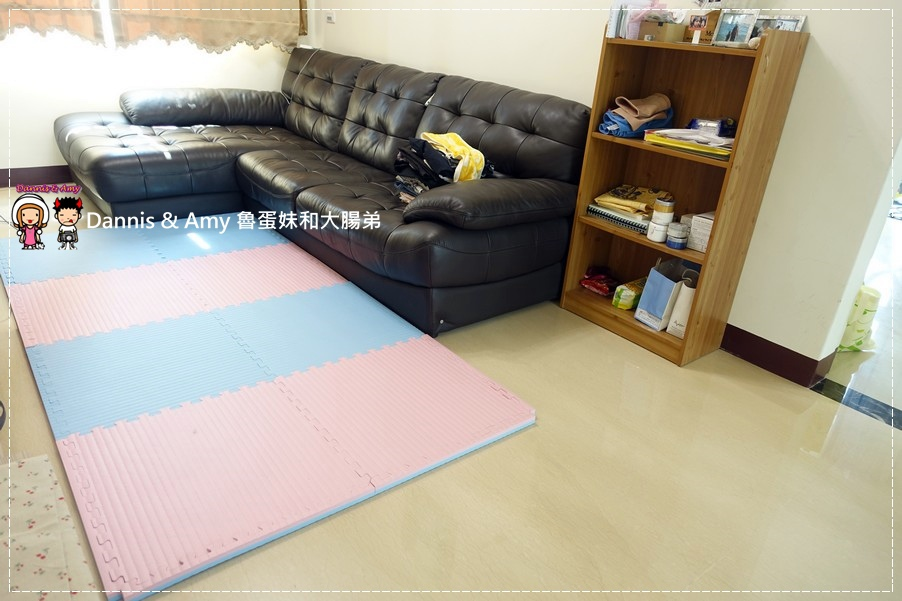 20160723《儿童游戏地垫》左左右右也爱用的  Mei colors美美地垫 台湾製造MIT好清洁隔音垫 游戏垫 运动垫 ︱(附开箱影片) (19).jpg