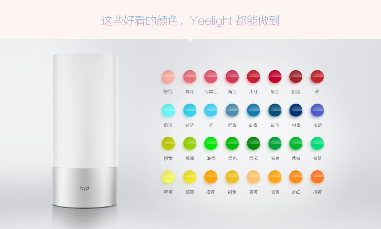 20160927《3C》小米 Yeelight LED 床頭燈。氣氛燈。情景燈。臥室燈x小米手環x藍芽連結APP︱(附使用影片) (1).jpg