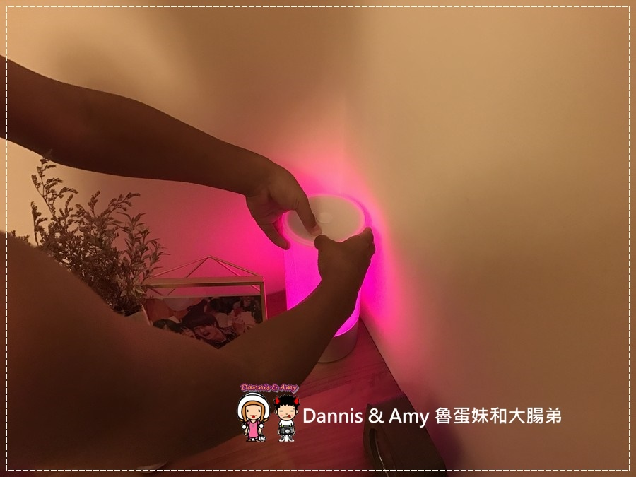 20160927《3C》小米 Yeelight LED 床頭燈。氣氛燈。情景燈。臥室燈x小米手環x藍芽連結APP︱(附使用影片) (20).JPG