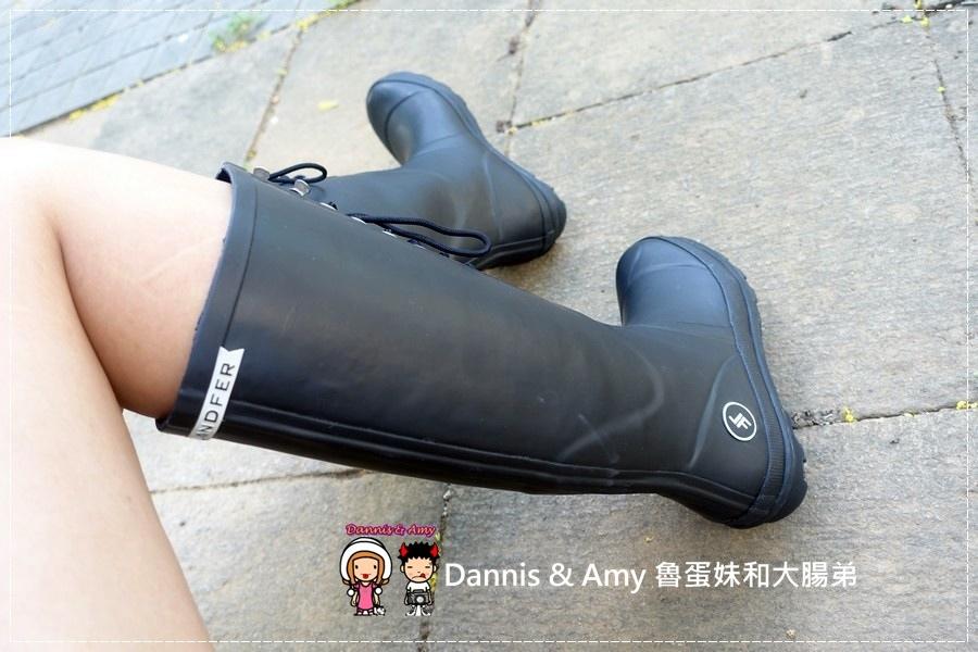 20160928《流行穿搭》LANDFER雨靴 是雨鞋也是睛天可穿的時尚長靴︱附開箱影片 (18).jpg