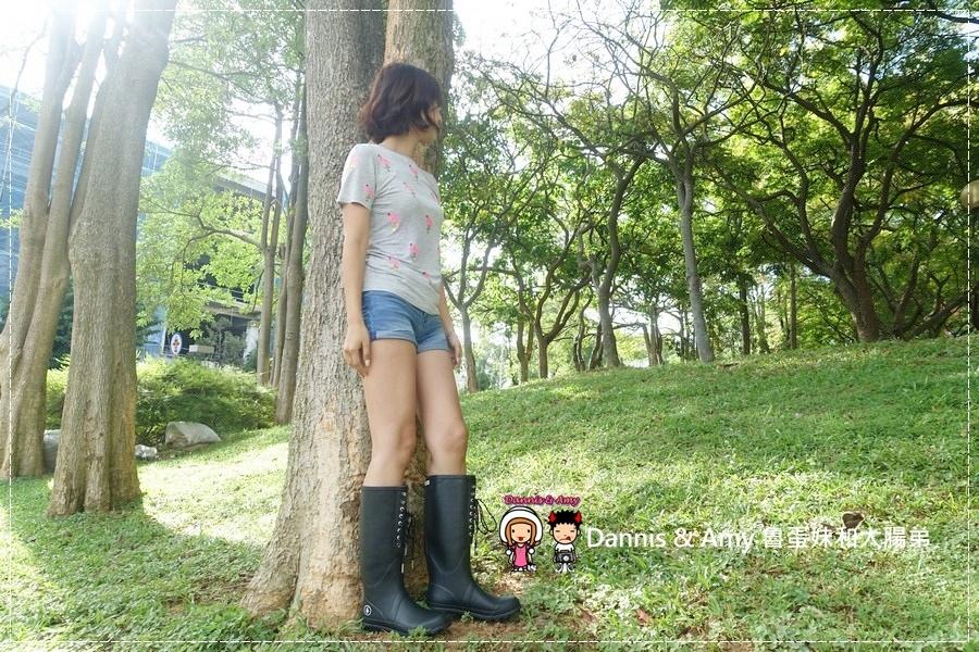 20160928《流行穿搭》LANDFER雨靴 是雨鞋也是睛天可穿的時尚長靴︱附開箱影片 (22).jpg