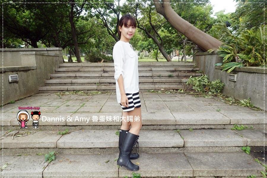 20160928《流行穿搭》LANDFER雨靴 是雨鞋也是睛天可穿的時尚長靴︱附開箱影片 (31).jpg