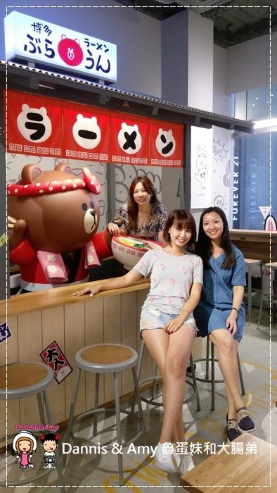 20160908《福岡天神景點》LINE FRIENDS CAFE & STORE 福岡天神店 超級好拍照的景點之一 ︱ (1).jpg