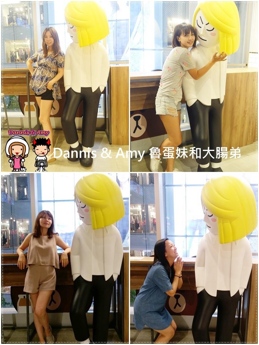 20160908《福岡天神景點》LINE FRIENDS CAFE & STORE 福岡天神店 超級好拍照的景點之一 ︱ (5).jpg