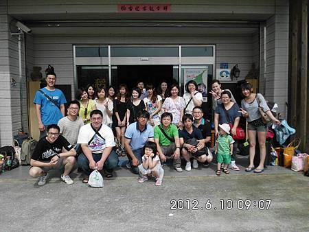 2012/6/9 黃小姐暨同仁同遊 稻民宿