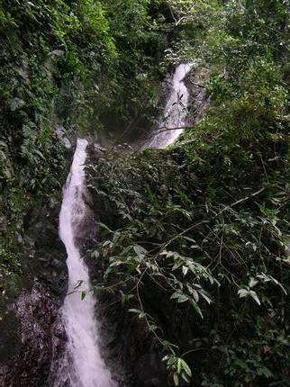 溯溪終點~美麗的瀑布