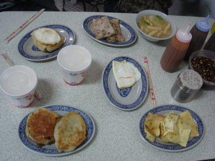 營養豐盛的早餐