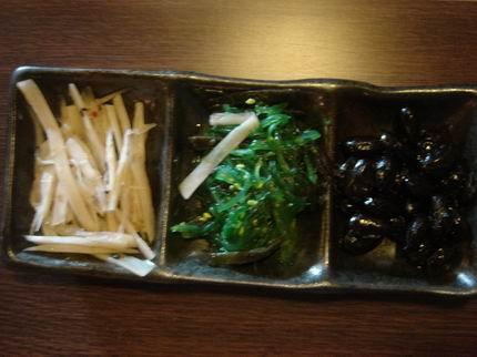 很日式的前菜