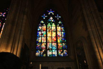 聖維特大教堂~慕夏之窗