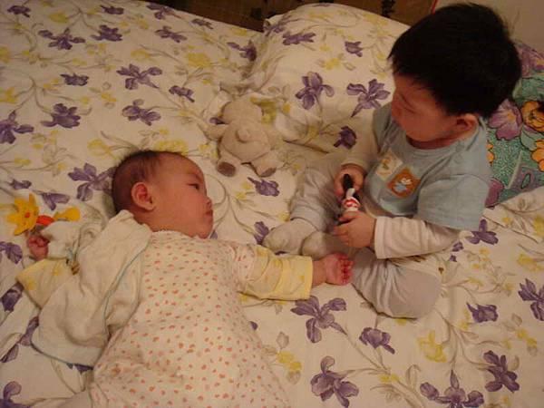 晴跟小弘宇哥哥
