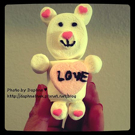 棉花糖小熊