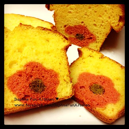 Spring cake loaf 1