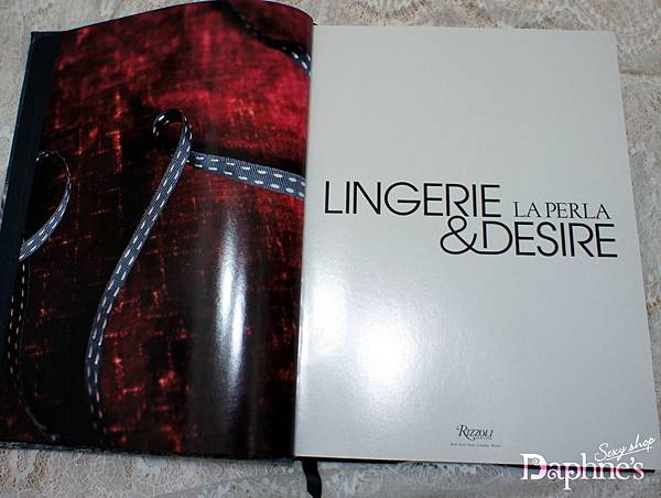 La Perla 攝影書《Lingerie & Desire》