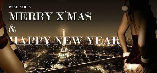 【黛芙妮性感小舖】2013  聖誕節 & 新年快樂 臉書背景