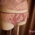 AN8-431 紫蕾絲短睡衣