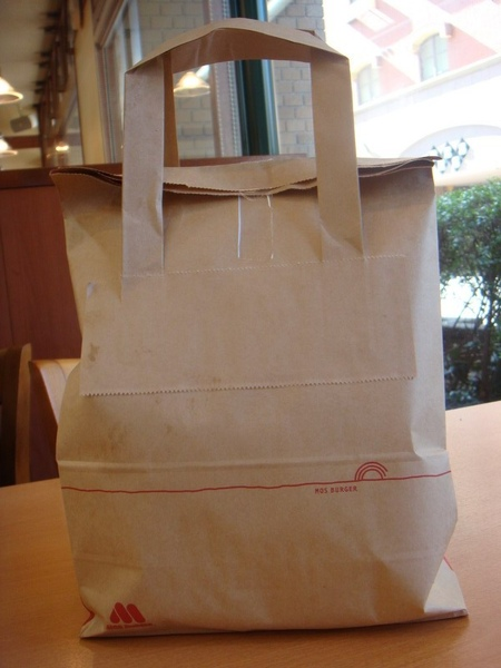 MOS的手提袋   整個就是方便阿~~還有提把