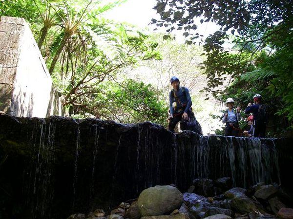 廢棄的水壩