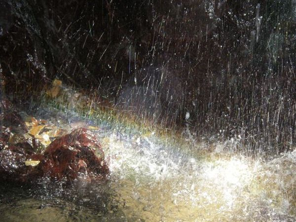 小瀑下之小彩虹