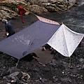 也搭幾片可避風遮雨的外帳