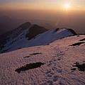 晨曦的雪地,擁有特殊的美感