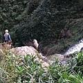 半平大瀑布瀑頂
