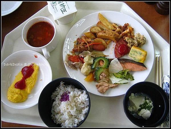 Hotel Maihana的早餐