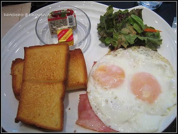 Sun Royal Hotel的早餐(洋式)