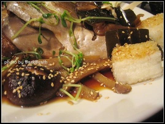 香菇、牛蒡、炸豆腐