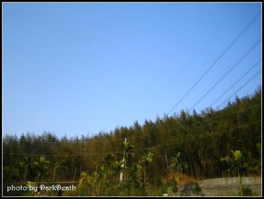 晴朗的藍天