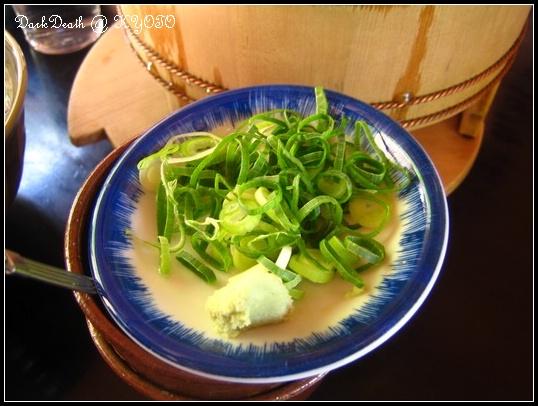 湯豆腐的佐料