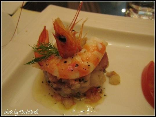 蝦與海鮮洋芋泥