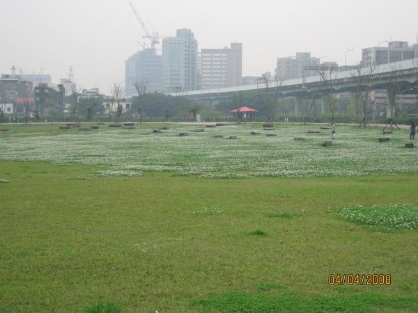 光華商場公園一景