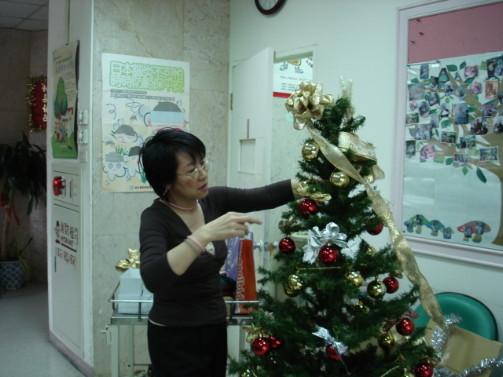 佈置耶誕樹