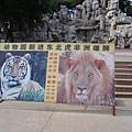 園內獅虎廣告