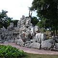 入門處石頭景觀
