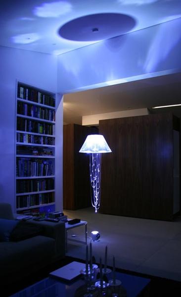 阿飄水母燈