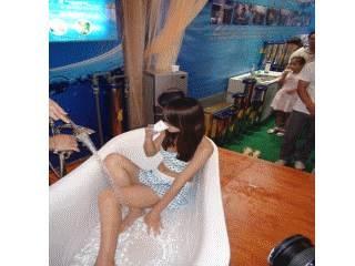 喝女模洗澡水
