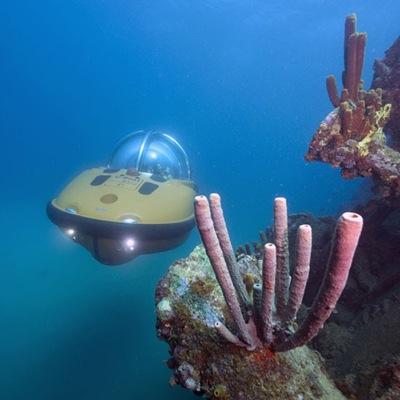 私人探險潛水艇
