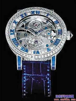 鑽石陀飛輪表