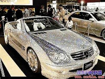 鑽石奔馳轎車