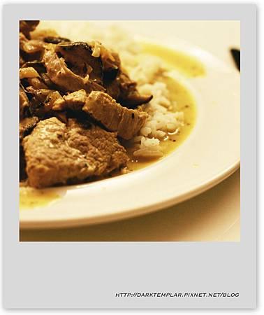 Cream Mustard Pork