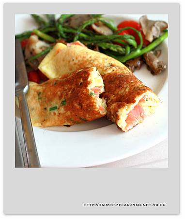 Smoked Salmo Omelette 01