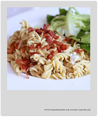 Bacon Pesto Pasta 04