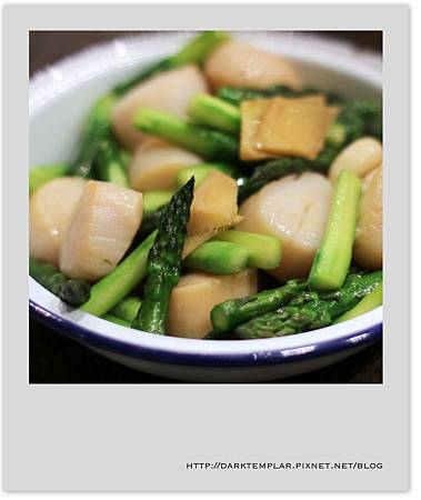 2015 Scallops with Asparagus 01